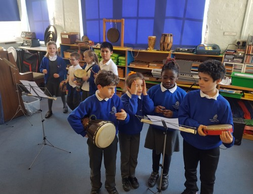 Polyrhythms with Year 3/4